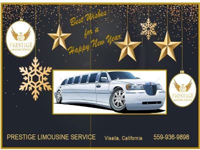 Happy New Year from Prestige Limo 400x300