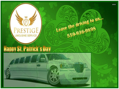 Prestige Limo St Patricks Day - 2