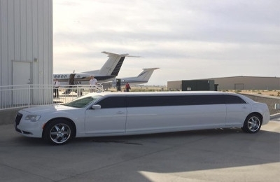 Prestige Limousine Chrysler limo Services - airport shuttle