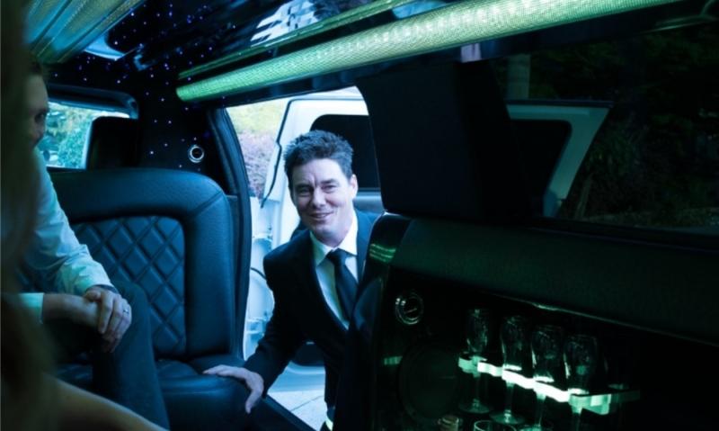 Prestige Limousine driver Wayne
