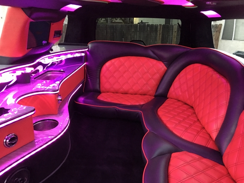 Prestige Limousine inside view5 of Cadillac limo