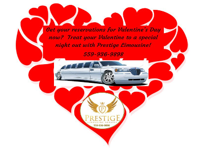 Valentines Day - Prestige Limousine 400x300