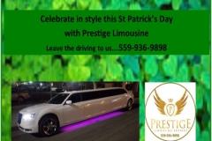Prestige Limo St Patricks Day