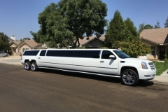 Prestige Limousine Cadillac limo - side view pic1