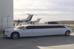 Prestige Limousine Chrysler limo Services - airport shuttle