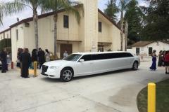 Prestige Limousine Services - Chrysler limo at wedding